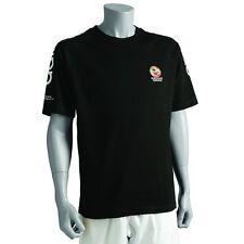 New adidas Karate WKF T-Shirts 100% Cotton Crew Neck adidas Karate TShirts-BLACK