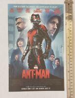 Ant-Man Movie RARE Print Advertisement