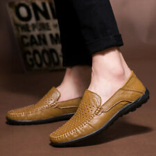 Casuals Shoes Men Loafer Low Cut Comfort Driving Flats Breathable Slip On Trail