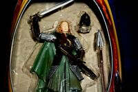 """LORD OF THE RINGS RETURN OF THE KING EOWYN ARMOR 6"""" ACTION FIGURE TOYBIZ 2003"""