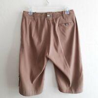 Jamie Sadock Golf Shorts Light Tan Bermuda Walking Length Womens Size 6