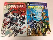 Robotech Defenders #1 #2 1985 complete set