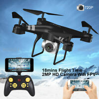 Wide Angle Lens HD Camera Quadcopter RC 2.4G 4CH Drone WiFi FPV Helicopter Hover