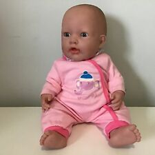 Berenguer Vinyl Baby Doll With Music Sound Effects And Sleeping Eyes #454