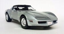 NEX 1/18 Scale - 1982 Chevrolet Corvette Coupe C3 Silver Diecast Model Car