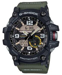 Casio G-Shock Mudmaster Twin Sensor Master Of G Green Resin Watch GG-1000-1A3
