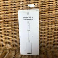 Apple Thunderbolt auf FireWire Adapter - Weiß (MD464ZM/A) Original
