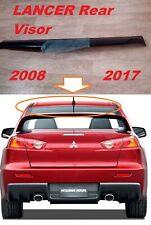 For Mitsubishi  Lancer X 10  Rear Window Visor Wing Spoiler 2008-2017 4Door