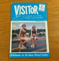 LAKE OKOBOJI, IOWA Vintage 1967 Pamphlet Booklet Brochure Visitor Travel Guide