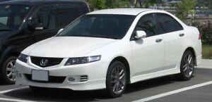 For Honda Accord Euro 2003-2007 CL Slimline Window Visors/Weathershields (4PCS)