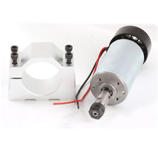 0.3KW 300W Air Cooled CNC Spindle Motor ER11 Collet+52mm Clamp For PCB Engraving