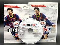 """NINTENDO WII SPIEL"""" FIFA FUSSBALL 2014 14 Legacy Edition """" KOMPLETT"""