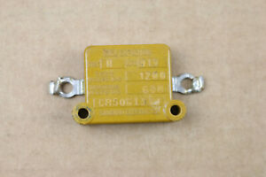 Sangamo Type H .013uF 600V Square Mica Capacitor Vintage Solder Lugs USA