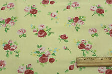 "Bloomcraft ""Joy"" Cotton Floral Drapery Upholstery Fabric Per Yard 525-803784"