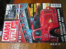 µ? revue Charge Uile n°58 Rouleau tracté Peugeot 203 utilitaire Courteix Meyer