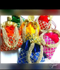Ethnic & Traditional Indian Handicraft Wedding potli Bag with beads