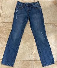 TRUE RELIGION Girls Blue Jeans Denim Size 14 Cotton