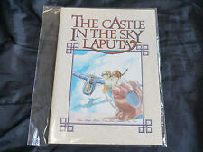 Rare vintage item Laputa Notebook and photo set - Genuine Studio Ghibli