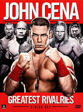 WWE: John Cena's Greatest Rivalries [3 Discs] BRAND NEW IN SEALED PACKAGING!