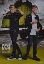 MARCUS & MARTINUS - A3 Poster (ca. 42 x 28 cm) - Clippings Fan Sammlung NEU