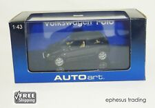 AUTOart AUTO art VW Volkswagen Polo Mk4 3-Door Hatchback Black 59762 1/43 NEW!