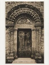 Hereford Kilpeck Church Norman Door Vintage RP Postcard 289a