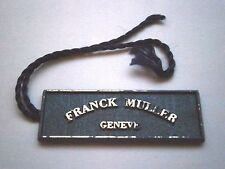Franck Muller String Swing Hang Tag