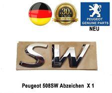 Peugeot 508 SW Break Embleme Abzeichen Badge 8666CZ Originalteil X 1 Neu