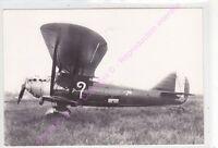 CPSM PHOTO AVION PLANE BREGUET19 disparu en vol Coste et Belfonte France 1930