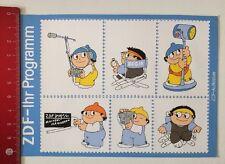 Decal/Sticker: ZDF your program Mainzelmännchen-Postcard (11031688)