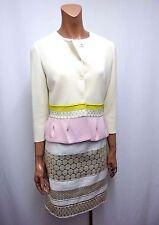Einreihige Damen-Anzüge & -Kombinationen im Kleid mit Jacke-Stil für Knielang