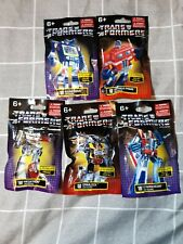 NEW Hasbro Transformers Limited Edition Mini Figures Lot of 5 (All different)
