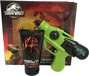 Jurassic World fun bath pistol set water pistol + 150ml body wash New
