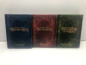 The Lord of the Rings set (DVD, Special Extended DVD Edition, Collectors)- ACC24