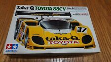 Tamiya JAPAN Taka-Q Toyota 88C-V 1/24 Scale Car Model BRAND NEW NEVER USED RARE