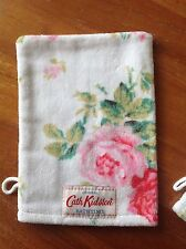 NEW Limited Edition ⭐️CATH KIDSTON⭐️Antique Rose White Wash Mitt⭐️Cloth Towel