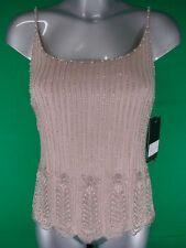 Women's Sleeveless Silk Waist Length Vest Top, Strappy, Cami Tops & Shirts