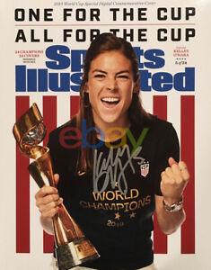 KELLEY O'HARA Signed 8x10 SPORTS ILLUSTRATED 2019 USWNT Soccer USA reprint