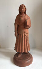 Antique 19thc Terracotta Figure - The Teacher - Possibly French - Fine Art
