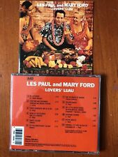 CD: LES PAUL AND MARY FORD - LOVERS' LUAU -VGC