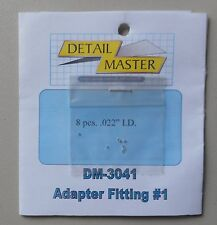 ADAPTER FITTING #1 .020 1:24 1:25 DETAIL MASTER CAR MODEL ACCESSORY 3041