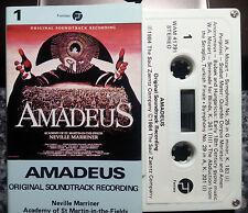 AMADEUS SOUNDTRACK TAPE RARE FREE POST IN AUSTRALIA