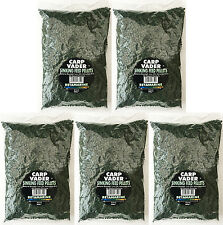 5 Bags of Carp Vader 4mm Betamarine Green Sinking Feed Pellets  800g (Total 4kg)
