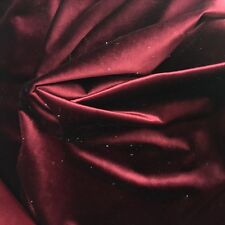 "WINE Heavy Velvet  57""- 60"" inch 100% Polyester By The Yard"