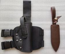 Resident Evil 4 Leon Scott Kennedy's Pistol holster and Knife sheathe Props