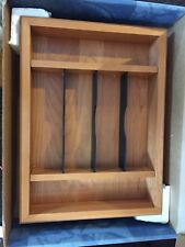 New Wooden Drawer Organizer 6 Compartment  Kitchen Organize Crafts Office