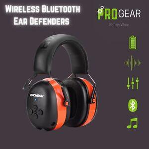 Wireless Bluetooth Ear Defenders/ Headphones - PROHEAR