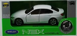 WELLY BMW 335i F30 WHITE 1:34 DIE CAST METAL MODEL NEW IN BOX