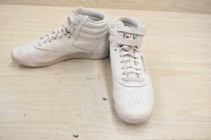 Reebok Freestyle Hi Training Sneakers, Women's Size 9, White