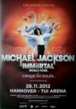 CIRQUE DU SOLEIL - 2012 - Plakat - Michael Jackson - The Immortal - Poster - Han